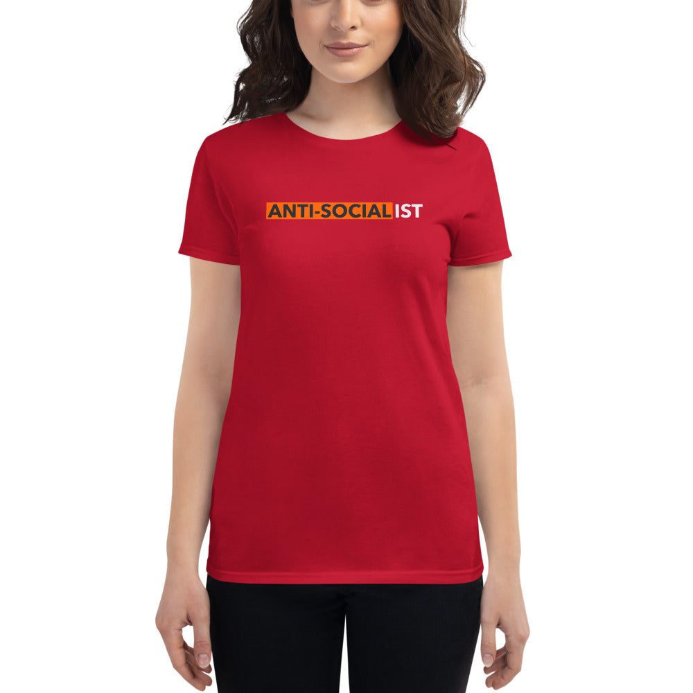 Anti-Socialist Women's T-shirt