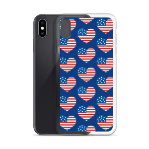 American Heart iPhone Case