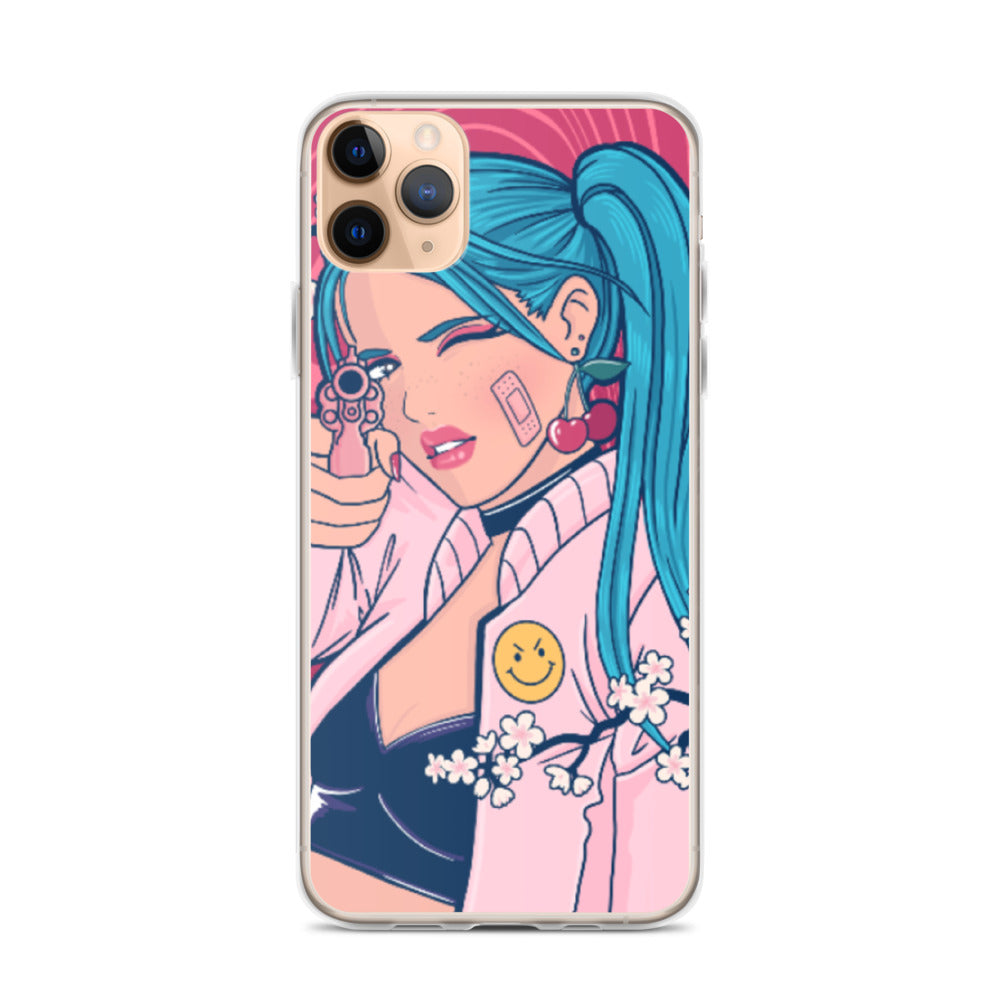 Girl Gun iPhone Case