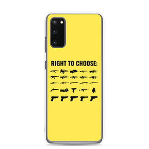 Right to Choose Samsung Case