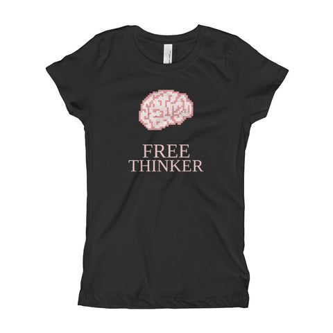 Free Thinker Girls' T-Shirt