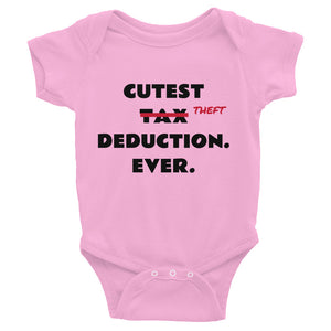 Theft Deduction Infant Bodysuit