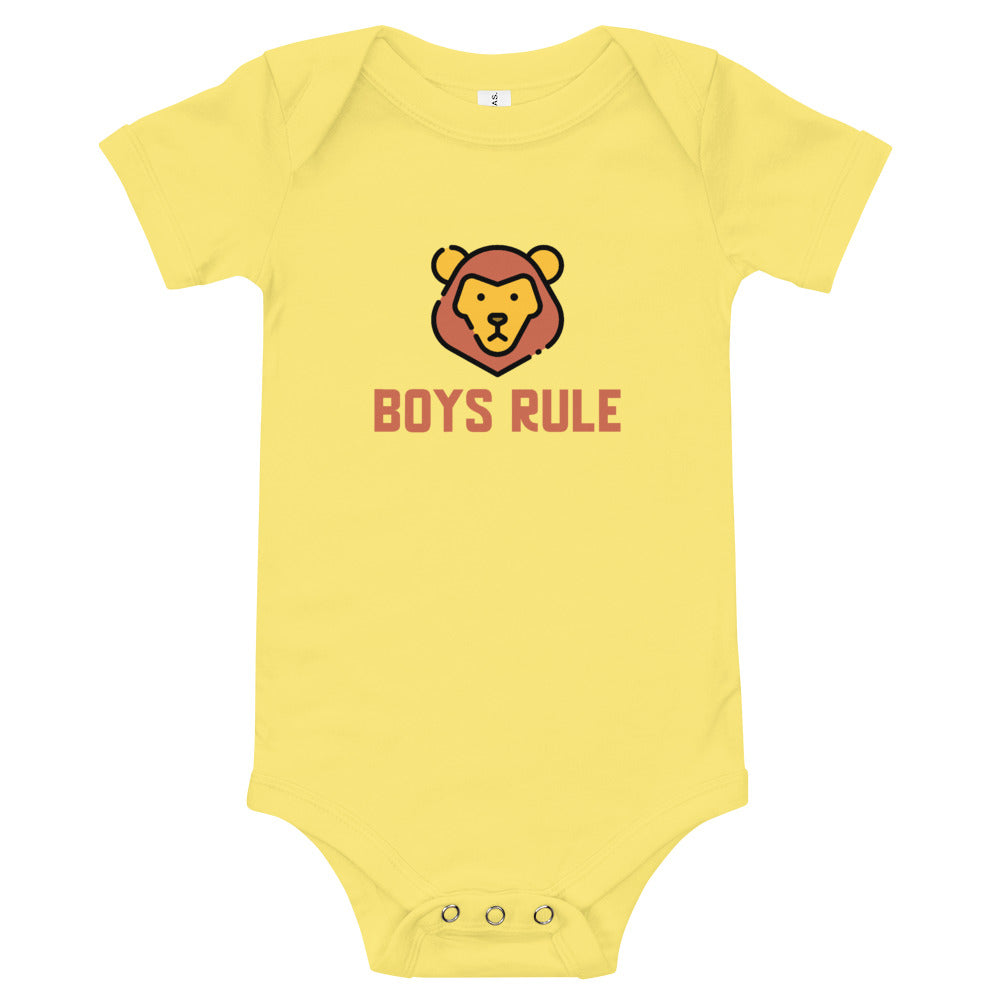 Boys Rule T-Shirt
