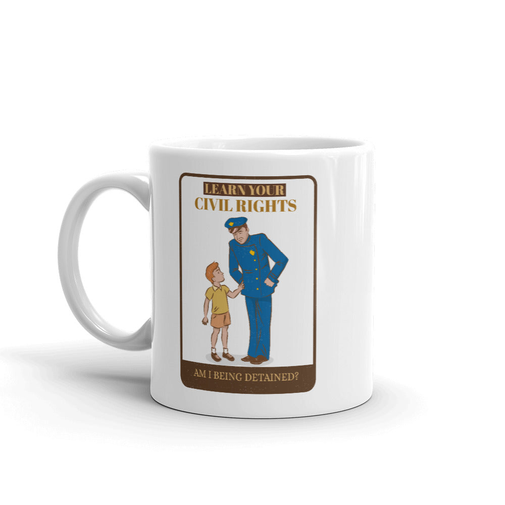 Am I Being Detained? Mug