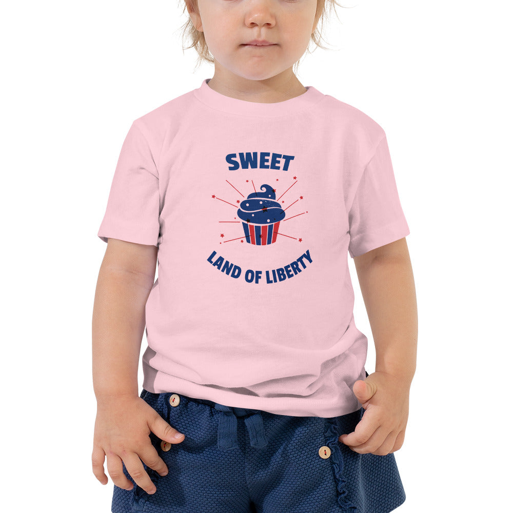 Sweet Land of Liberty Toddler T-Shirt