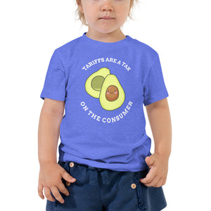 Tariffs Are a Tax on the Consumer Avocado Toddler T-Shirt