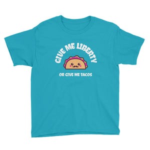 Give Me Liberty or Give Me Tacos Kids' Shirt