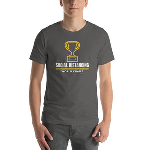 Social DIstancing World Champ T-Shirt