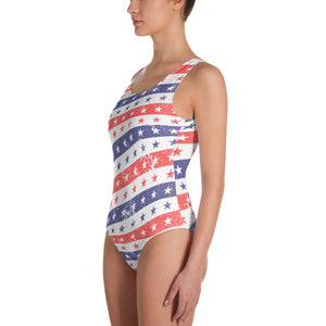 Stars and Stripes One-Piece Swimsuit