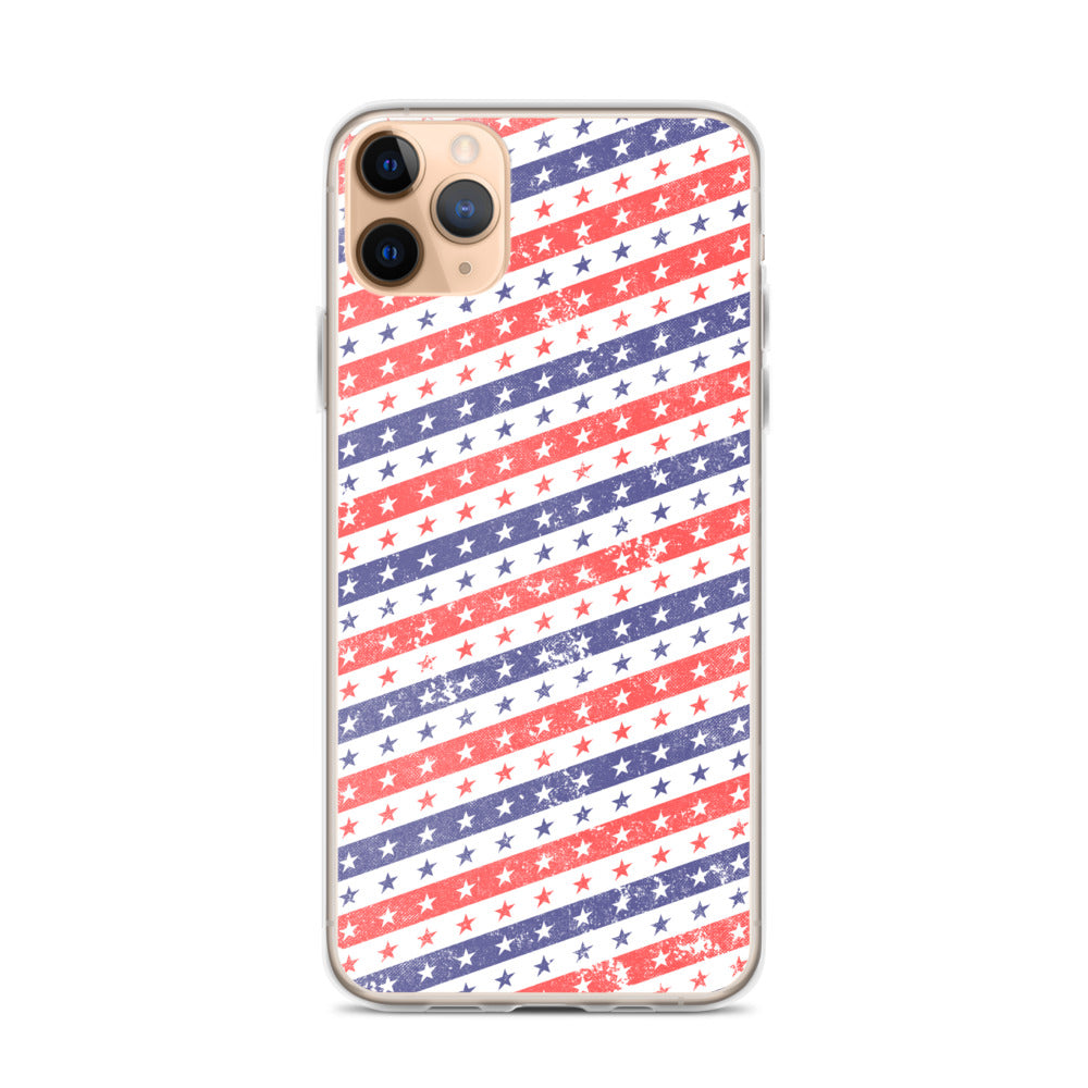 Stars and Stripes iPhone Case