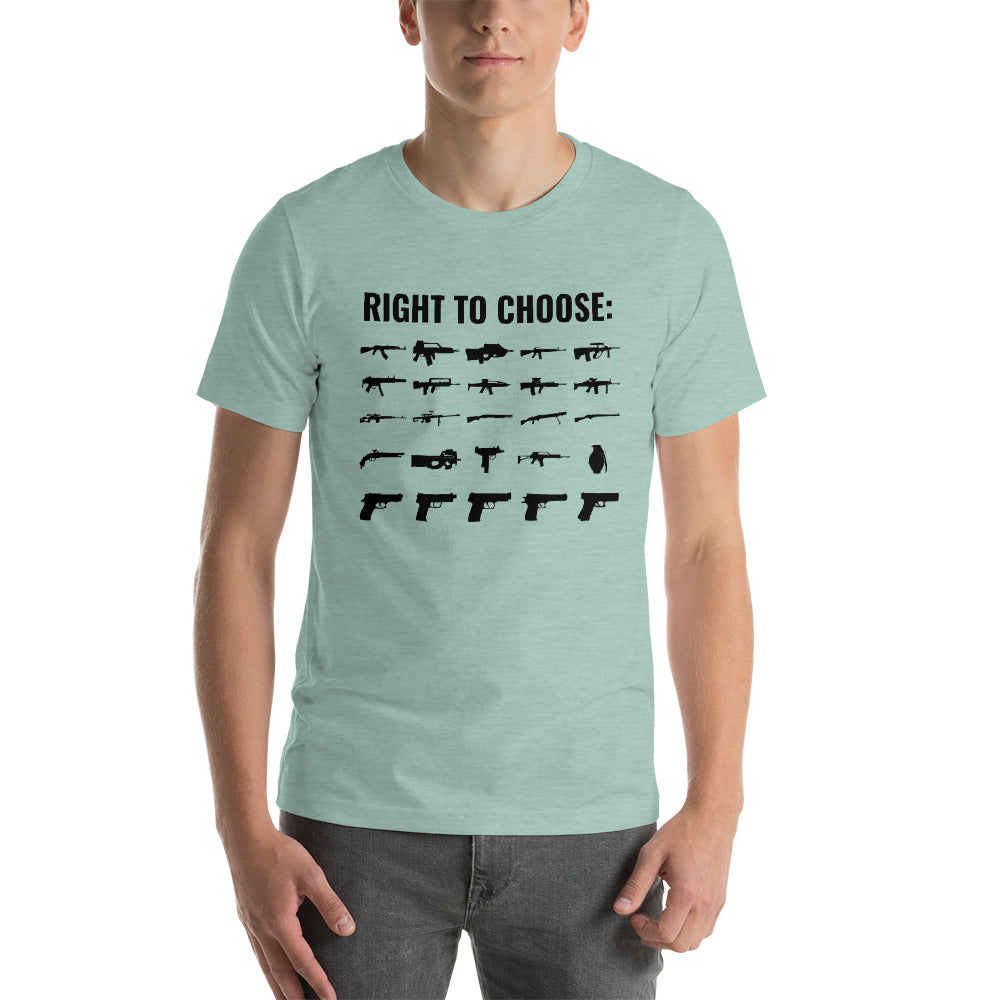 Right to Choose Guns T-Shirt