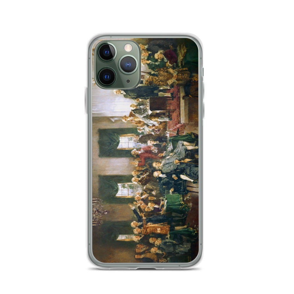 Signing of the Constitution iPhone Case