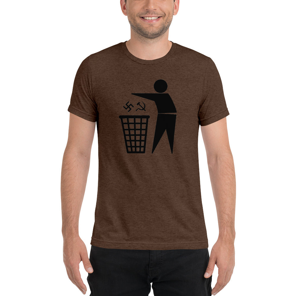 Trash Ideologies Triblend T-shirt