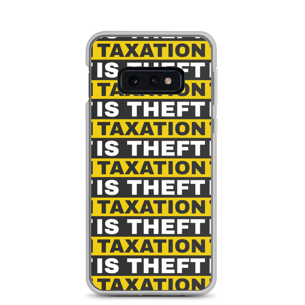 Taxation is Theft Samsung Case