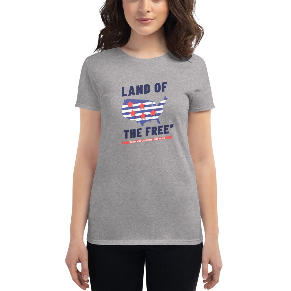Land of the Free*  t-shirt