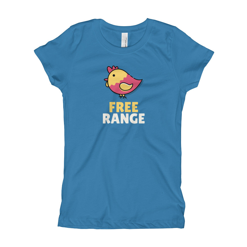 Free Range Chick Girl's T-Shirt