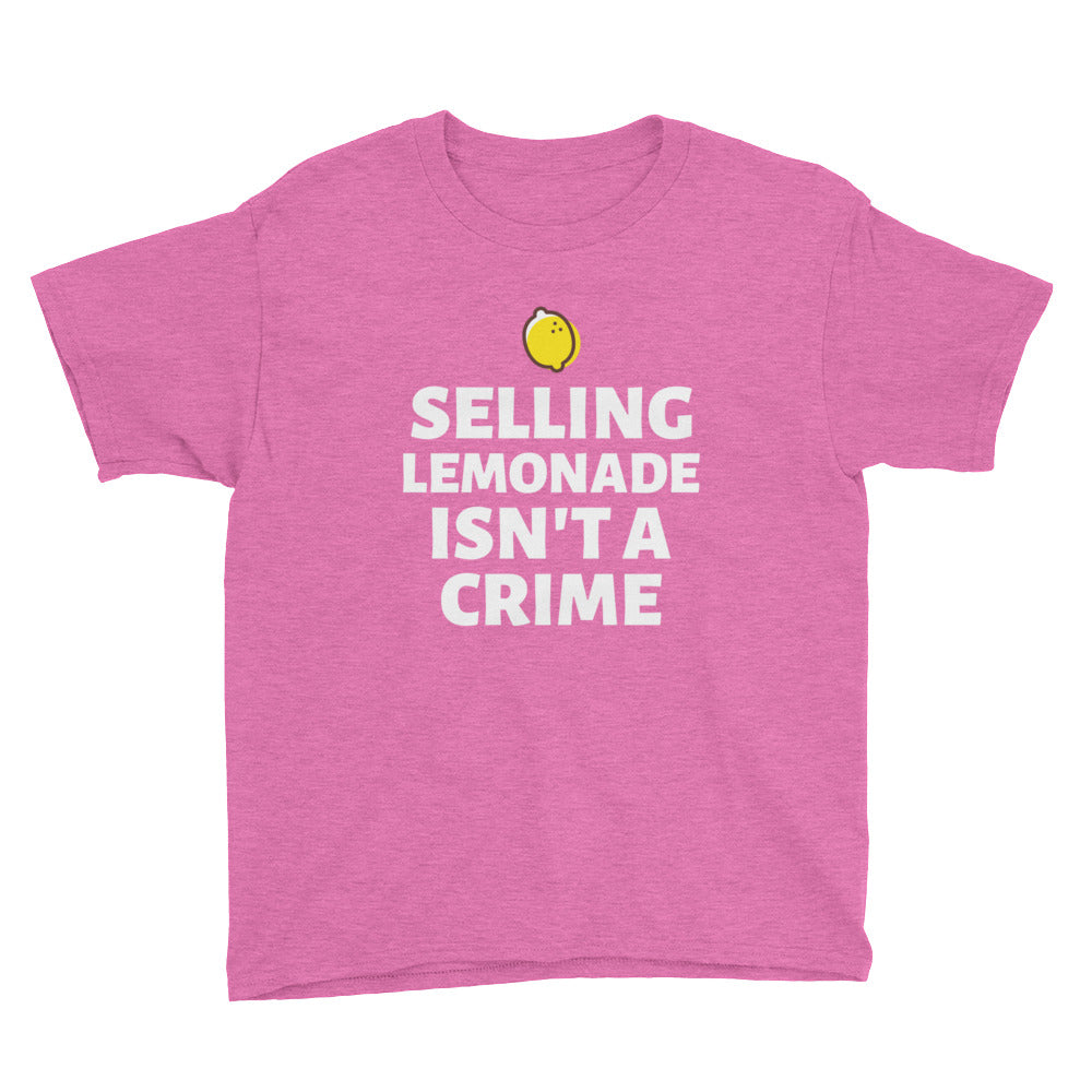 Selling Lemonade Isn't a Crime Kids' T-Shirt