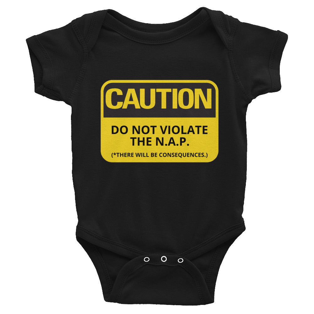 Do Not Violate NAP Infant Bodysuit
