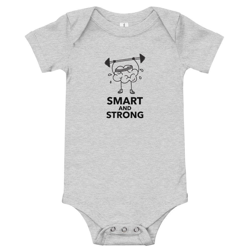 Smart and Strong Baby Bodysuit