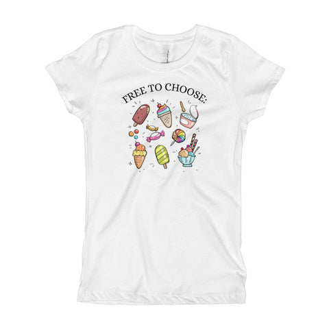 Free to Choose Girls' T-Shirt