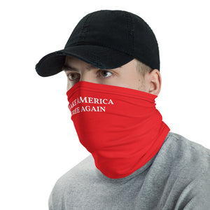 Make America Free Again Neck Gaiter