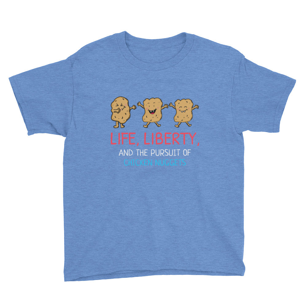 Life, Liberty and the Pursuit of Chicken Nuggets Kids' T-Shirt
