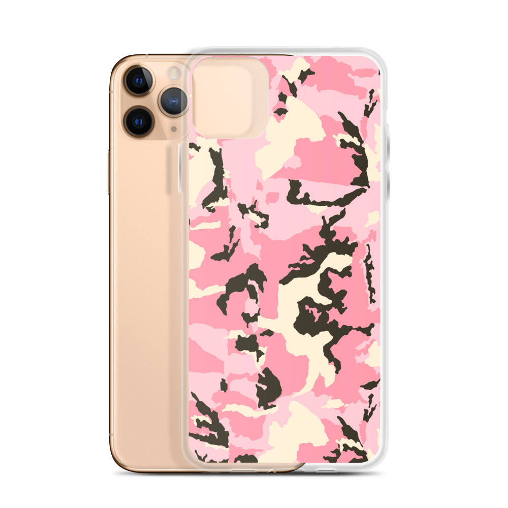 Pink Camo iPhone Case