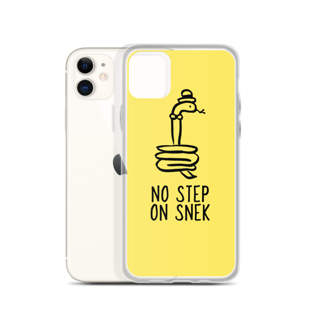No Step on Snek iPhone Case