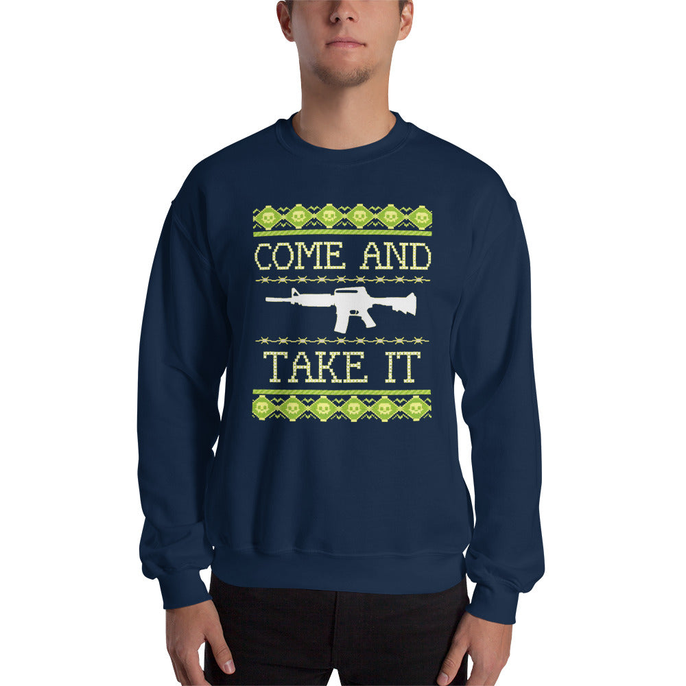 Come and Take It Christmas Sweatshirt