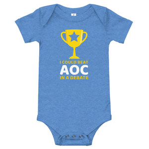 I Could Beat Alexandria Ocasio-Cortez in a Debate Baby Bodysuit