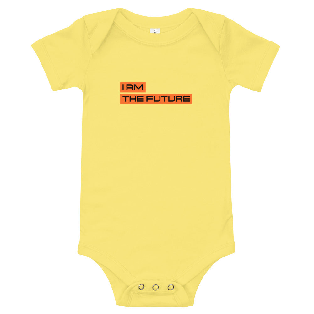 I Am The Future Baby Bodysuit