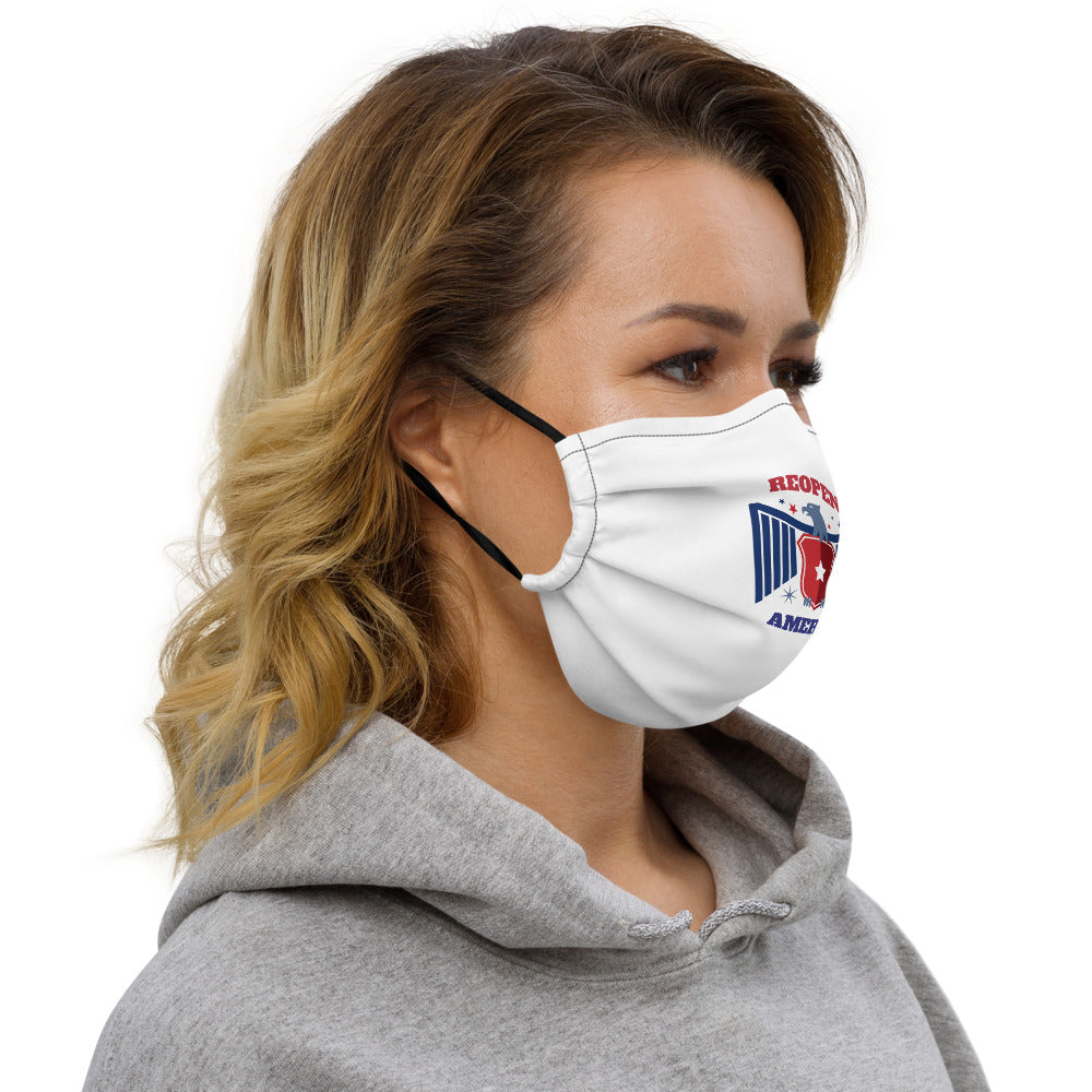 Reopen America Face mask