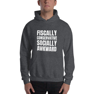 Fiscally Conservative, Socially Awkward Hoodie