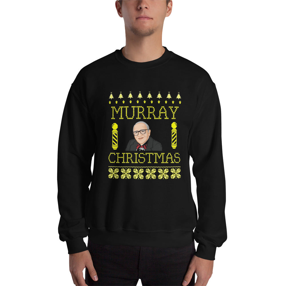 Murray (Rothbard) Christmas Sweatshirt