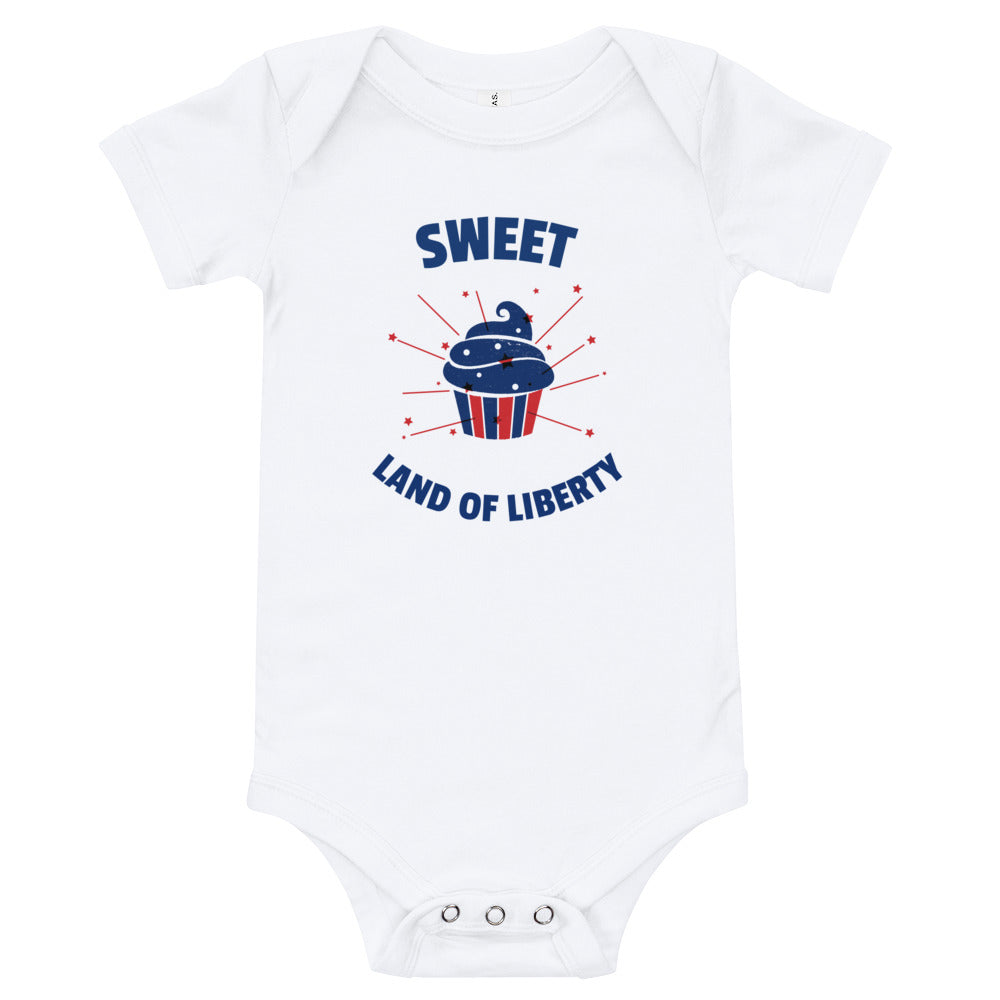 Sweet Land of Liberty Baby Bodysuit