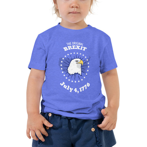 Original Brexit Patriotic Toddler T-Shirt