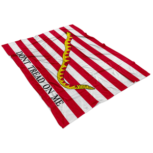 First Navy Jack Flag Blanket