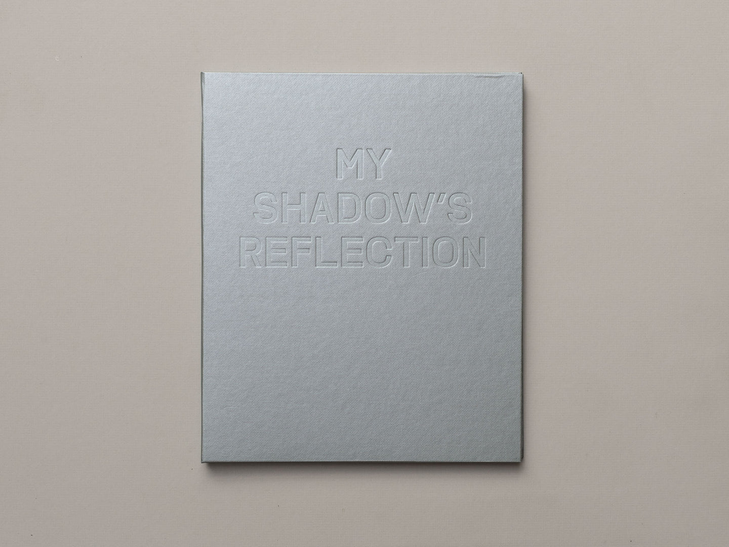 My Shadow's Reflection by Edmund Clark
