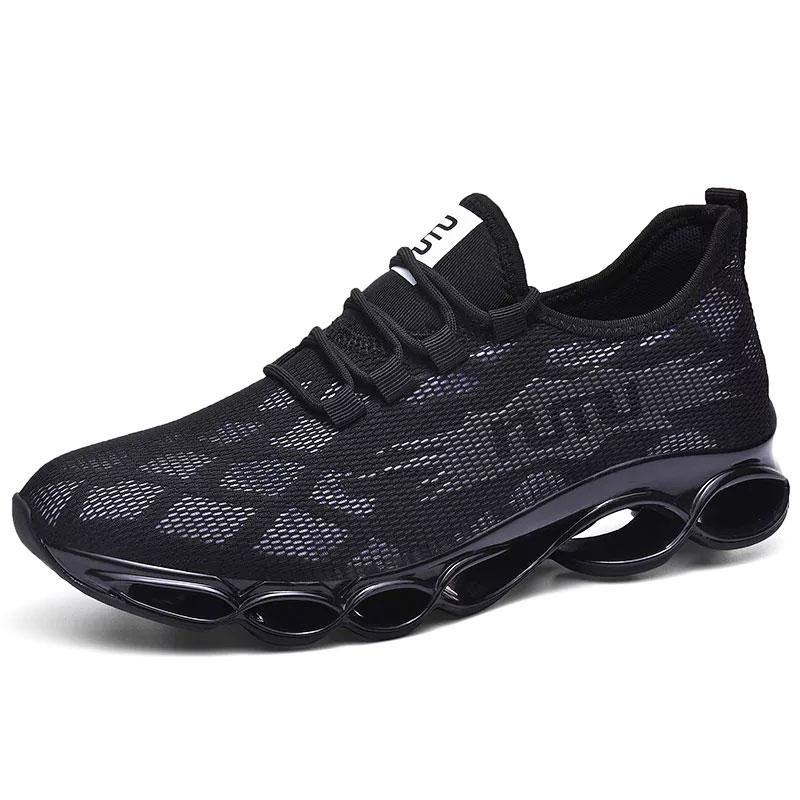 Men Outdoor Sports Breathable Blade Jogging Walking Sneakers