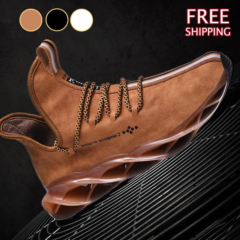 Men Sneakers Mesh Breathable Walking Footwears