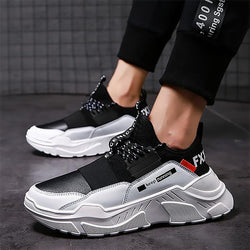 Male Lace-up High Quality Non Slip Comfortable Casual Breathable Outdoor Walking Shoes