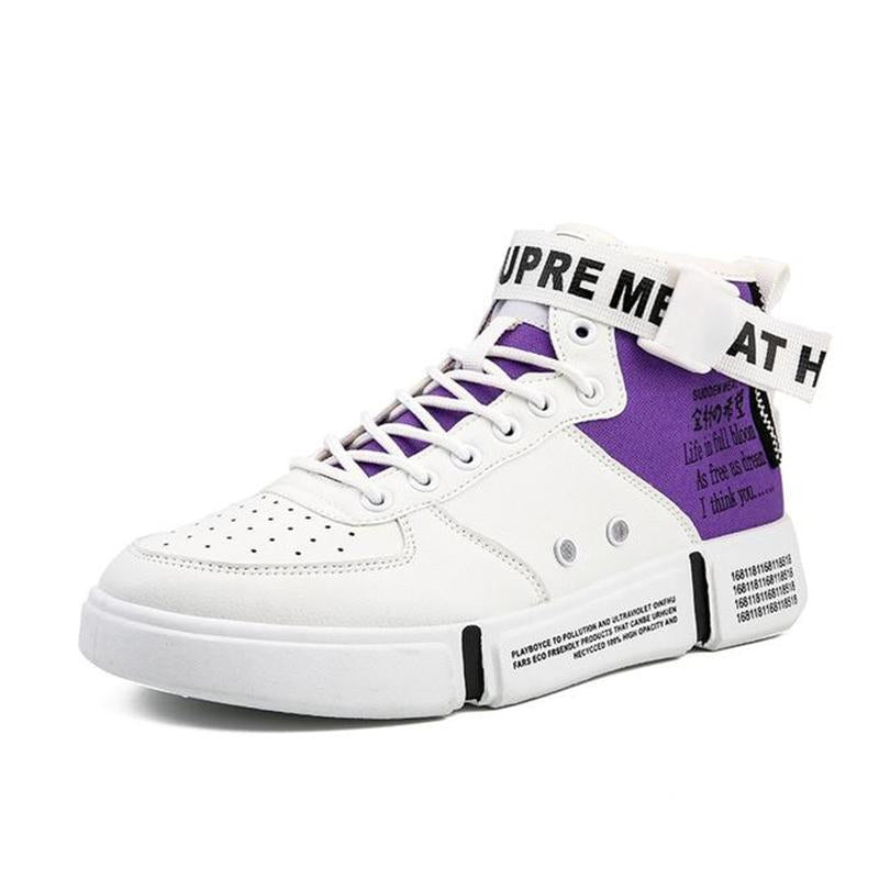 LovelyMs Justin Bieber SuperStar Hip Hop Shoes Mens High Top Shoes Casual