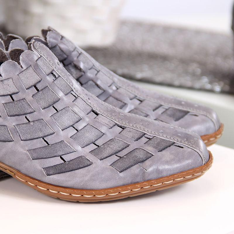 LovelyMs Women Casual Comfy Elastic Band Plus Size Shoes