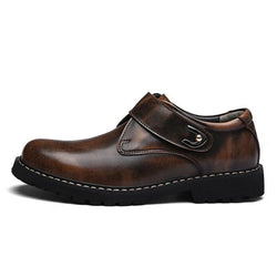 LovelyMs Top Quality Dress Shoes Men Flats Fashion Genuine Leather Casual Men Shoes