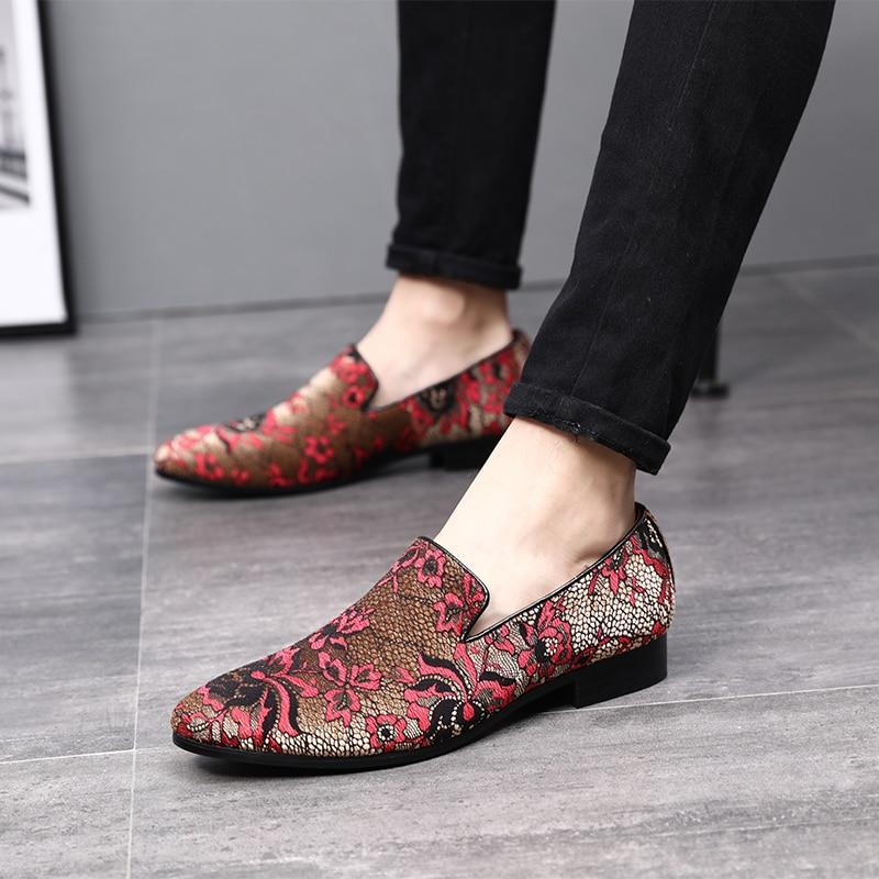 LovelyMs Classic Embroidery Pattern Footwear Flats Shoes MRK2936