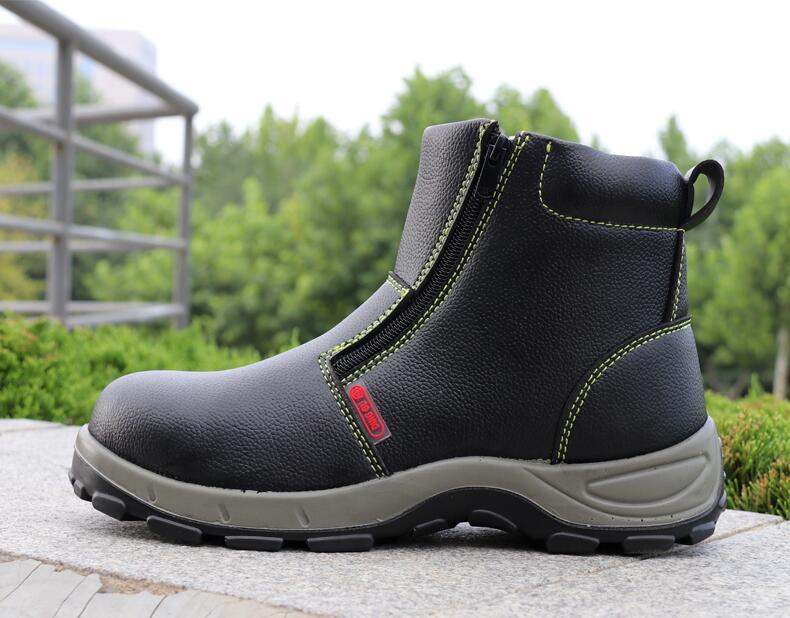 Steel Toe Caps Genuine Leather Work Boots