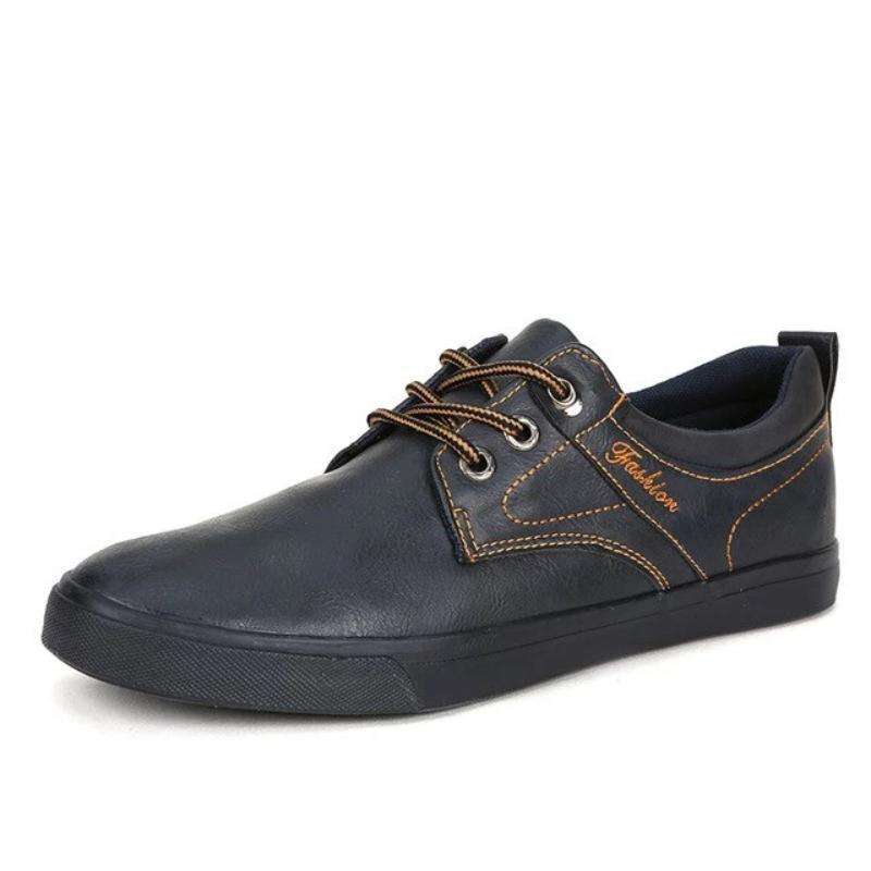 Leather Casual Men's Canvas Sneakers G763
