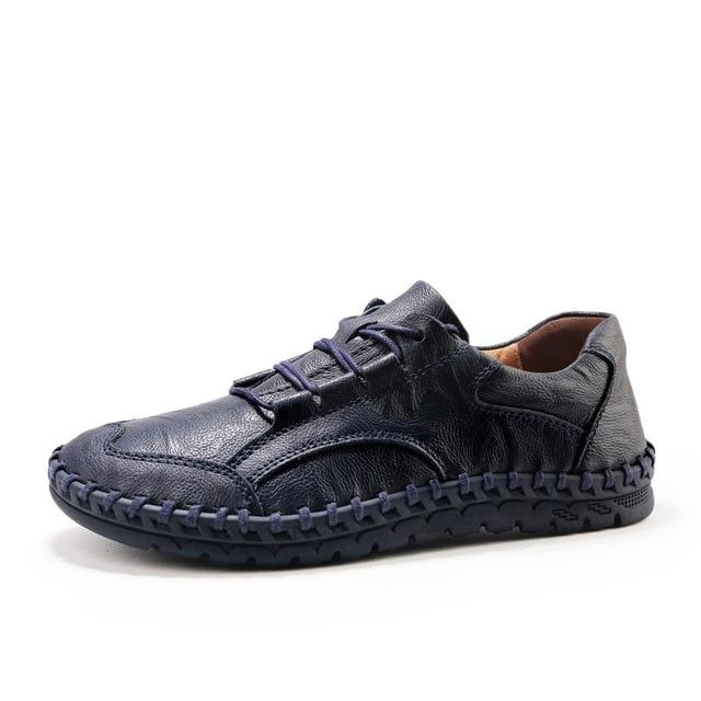 LovelyMs Design Handmade Loafers Men Casual Shoes