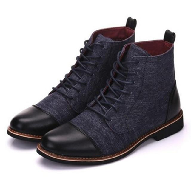Men's Fashion Style High Top Ankle Boots