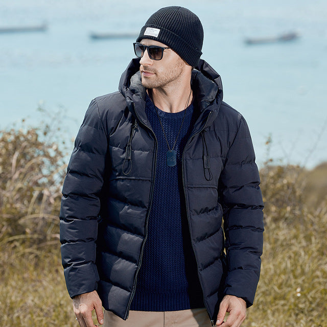 Men Winter&Autumn Tactical Thick Jacket Parkas Coat